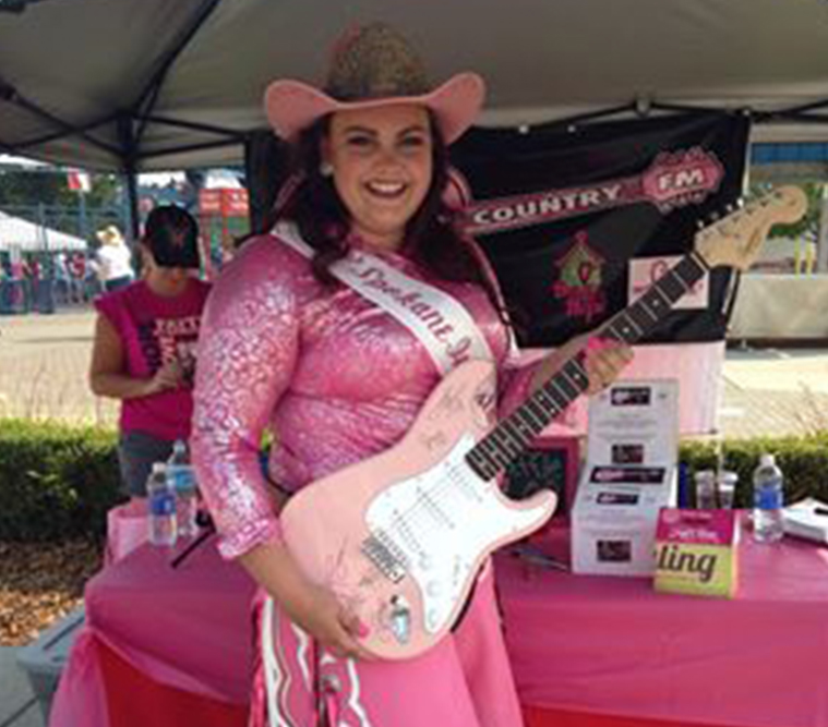 Tough Enough to Wear Pink Spokane Rodeo
