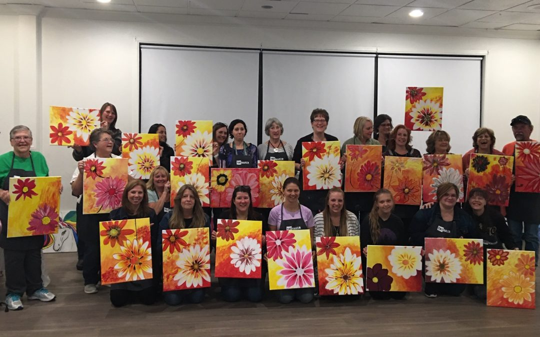 1st Annual Paint Nite, in the Books!